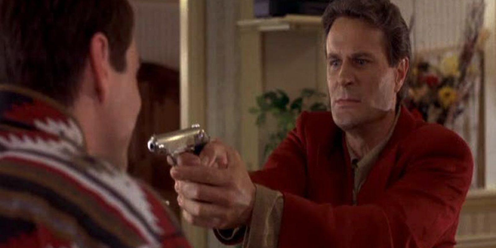 El actor interpretó al antagonista de esta historia, Nicholas Andre, un hombre atractivo, rico e inteligente. Foto:YouTube
