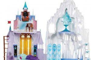 Los palacios de Elsa y Anna en versión miniatura Foto:Mercadolibre