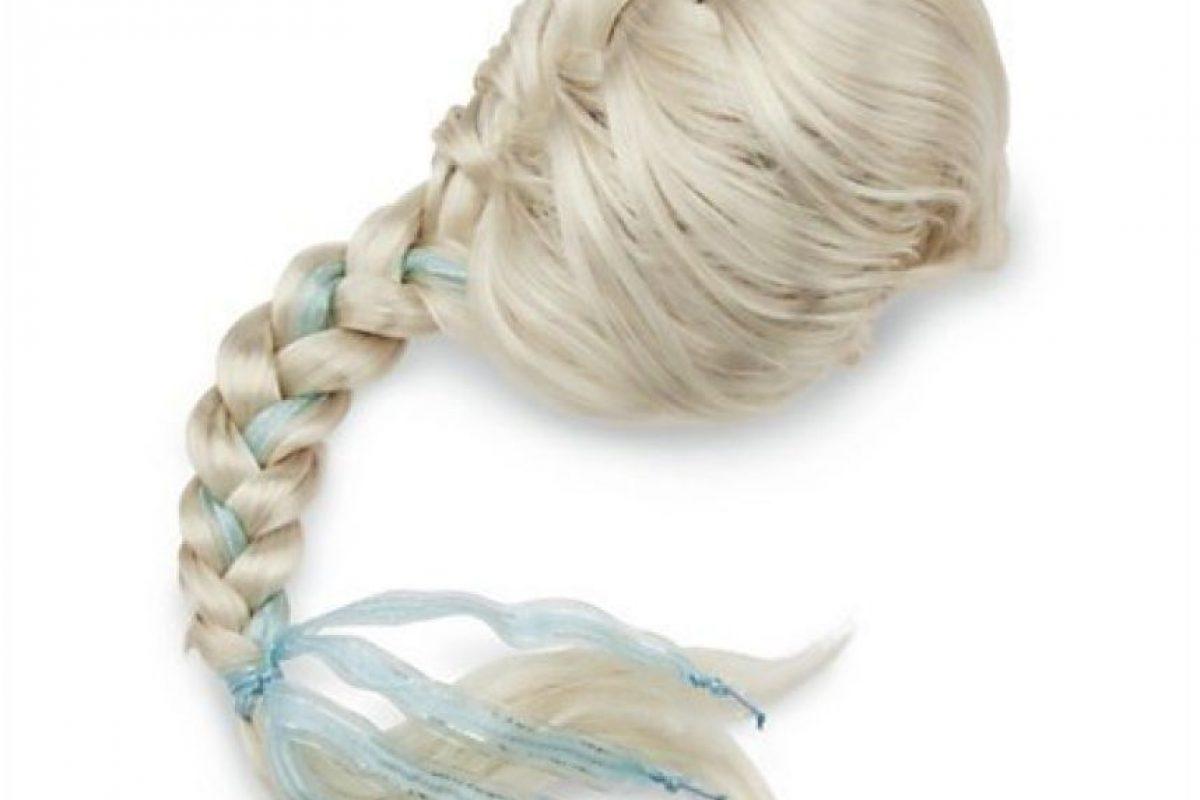 Pelucas para imitar el estilo de Elsa Foto:Mercadolibre