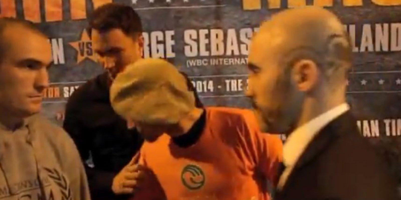 Anthony Fitzgerland y Gary O'Sullivan dieron show antes de su combate del próximo sábado Foto:Youtube: iFL TV