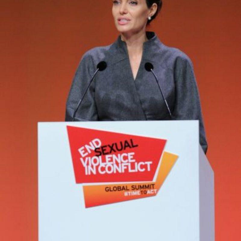 La actriz es la celebridad con mayor influencia positiva en la política. Foto:Getty Images