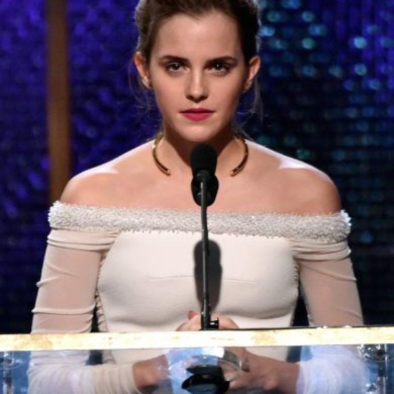 La protagonista de Harry Potter recibió el 16% de los votos como una influencia positiva. Foto:Getty Images