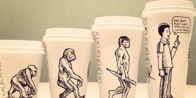 Fotos: Ocurrencias en vasos de café