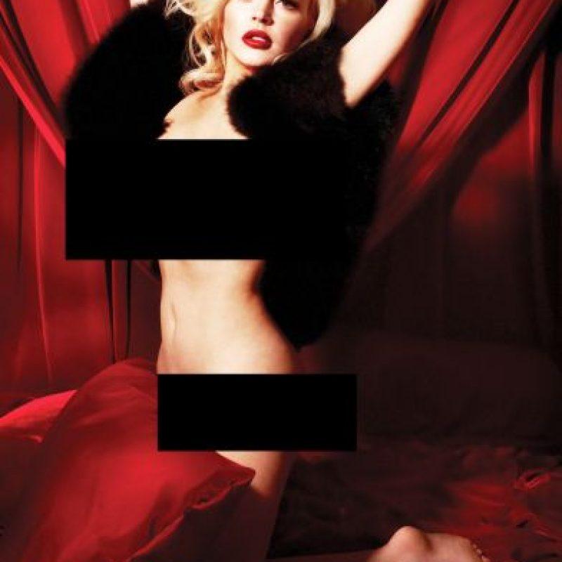 Antes, la actriz había posado en una serie de fotografías inspiradas en Marilyn Monroe. Foto:Vía Playboy