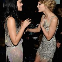 Taylor Swift y Katy Perry se pelearon publicamente hace unos meses Foto: Getty