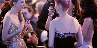 """Taylor acusó a Katy de """"robarle"""" a sus bailarines Foto:Getty"""