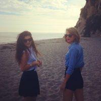 Y han tomado paseos por la playa Foto:Taylor Swift vía Instagram