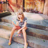 Él criticó a Taylor Swift por su falta de trasero Foto:Taylor Swift vía Instagram