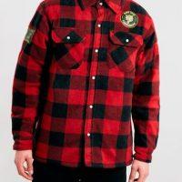 "Lumbersexual. Del famoso término de moda ""lumber jacket"" Foto:Pinterest"