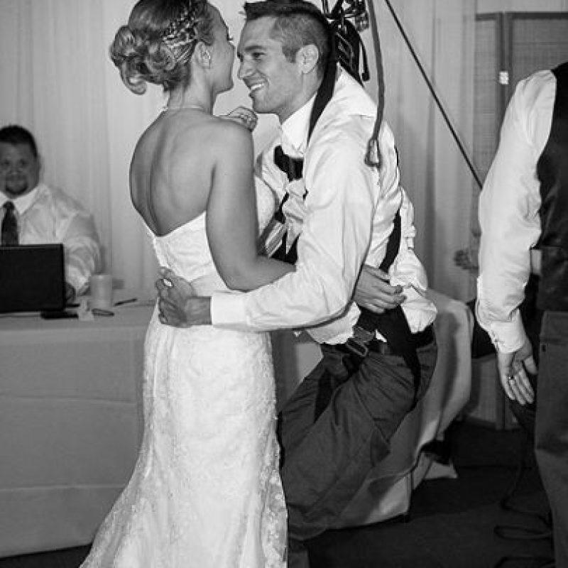 Este fue su primer baile juntos Foto:Cortesía linnealiz.com