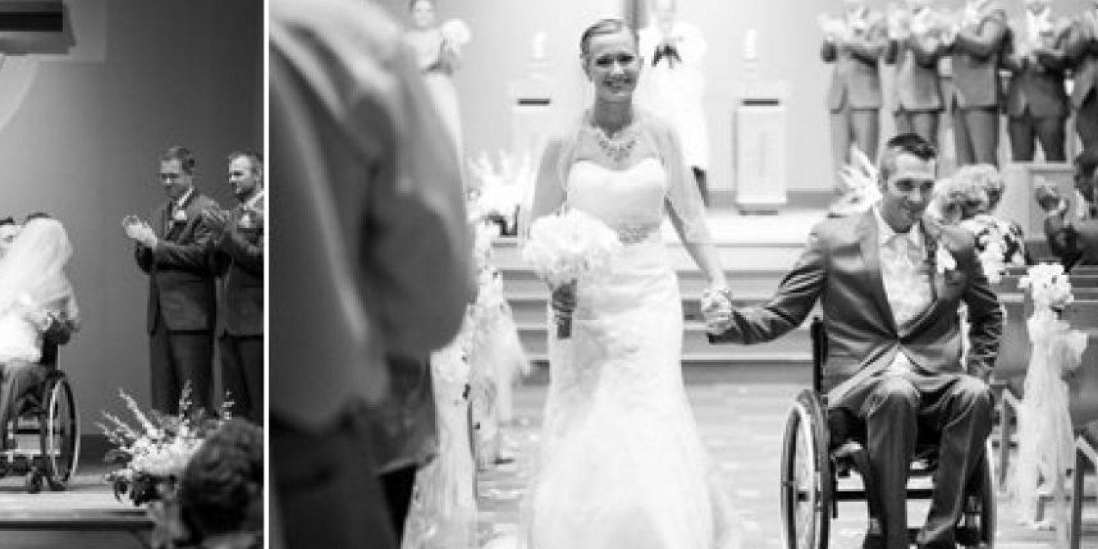 El día de su boda, el quiso hacerl ago por ella Foto:Cortesía linnealiz.com