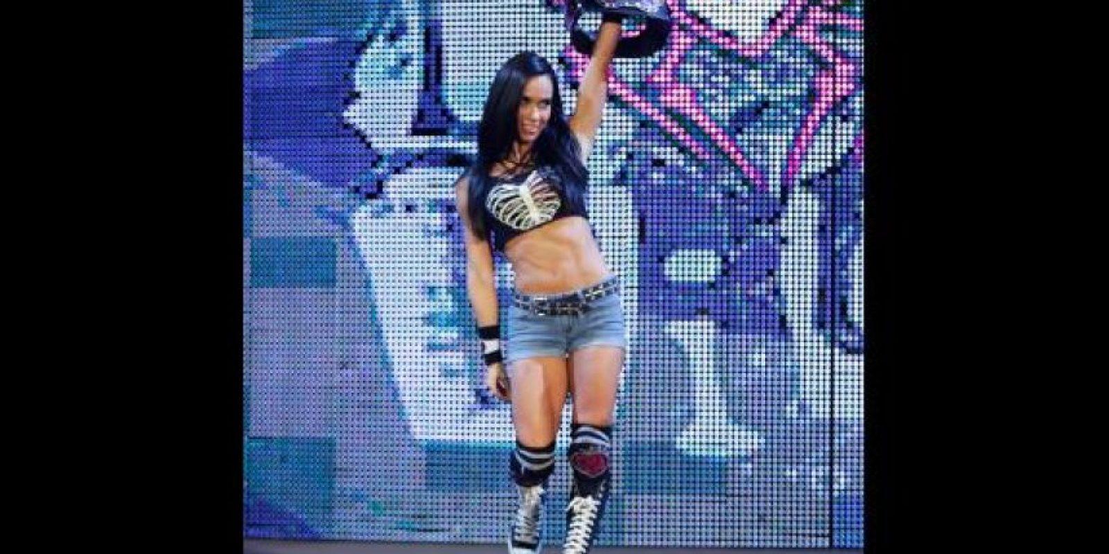 La campeona de las divas se llama April Jeanette Mendez-Brooks Foto:WWE