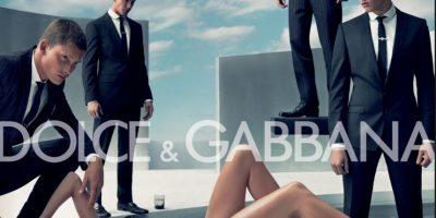 Las autoridades españolas vetaron el anuncio por esta razón. Foto:Dolce & Gabbana