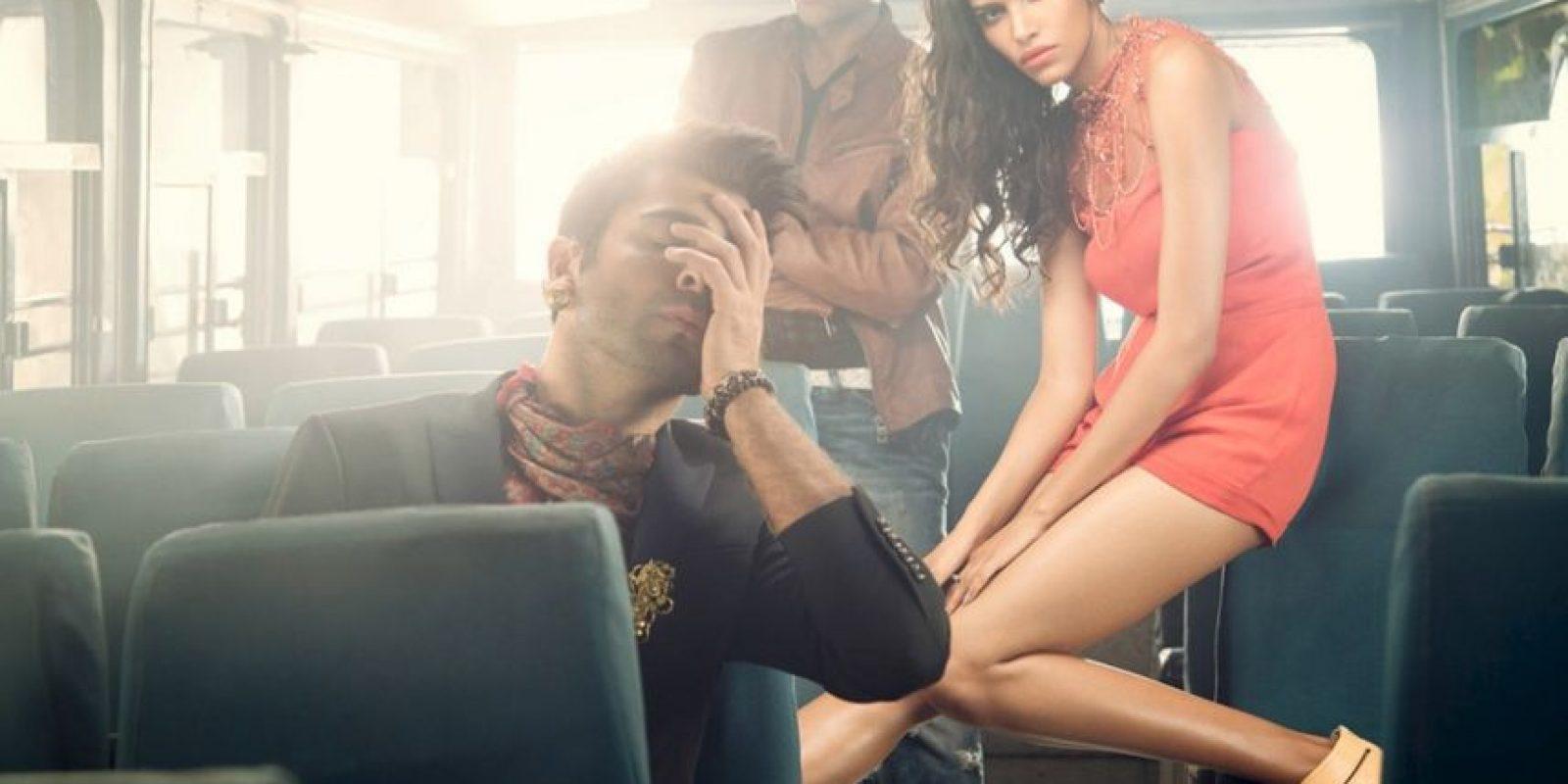 El fotógrafo tuvo que aclarar que denunciaba el problema Foto:Raj Shetye