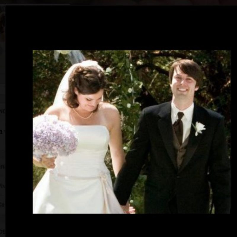 Chris y Ashley eran muy felices. Ella murió mientras dormía. Foto:Facebook/Chris Picco