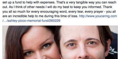 En sus redes sociales ha expresado cómo ha tenido que lidiar con la pérdida de su esposa y esta nueva responsabilidad. Foto:Facebook/Chris Picco