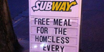 Subway hace esto. Foto:Tumblr