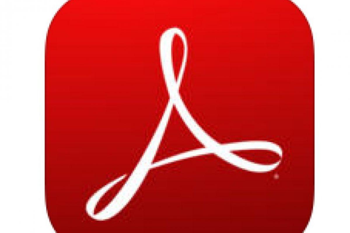5. Adobe Reader- Disponible tanto para Android como para IOS, esta aplicación permite cambiar cualquier documento a un formato de PDF. La herramienta también permite tomar notas, marcar textos, entre otras funciones. Foto:Captura de pantalla