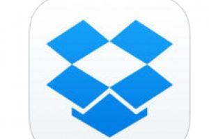 6. Dropbox- A través de esta aplicación se pueden compartir archivos con otras personas. Está disponible para Android y para IOS. Foto:Captura de pantalla