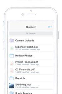 Dropbox Foto:Captura de pantalla