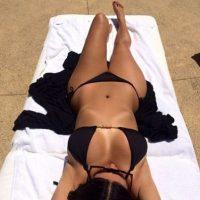 La socialité se desnudó totalmente, la sesión fue hecha en París Foto:Instagram @kimkardashian