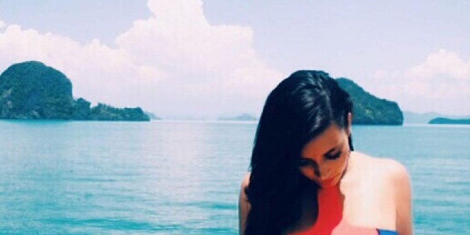 Le gusta presumir su cuerpo Foto:Instagram @kimkardashian