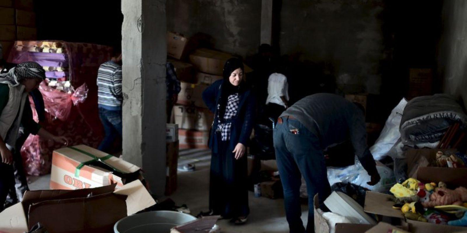 La coalición ha llevado a cabo bombardeos en zonas controladas por el Estado Islámico. Foto:AFP