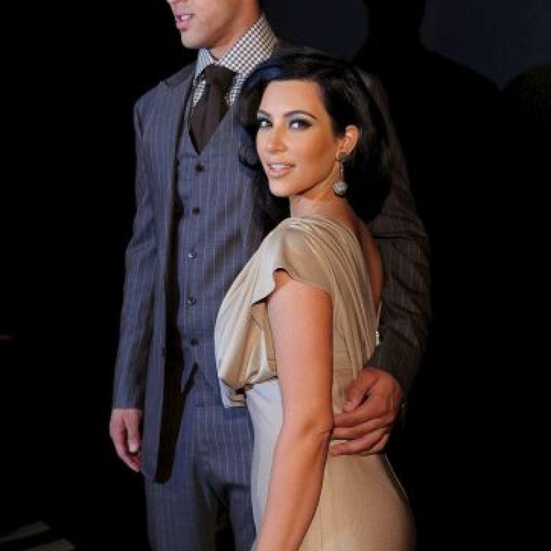 A mediados de 2012, se dio a conocer que Kim salía con el rapero Kanye West. Foto:Getty Images