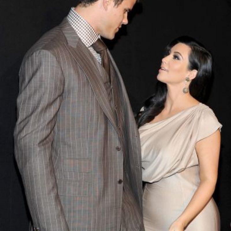 El 20 de agosto de 2011 se casó con el jugador de NBA, Kris Humphries. Foto:Getty Images