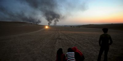 En entrevista con CBS, el mandatario indicó que los ataques aéreos durante los pasados meses han sido efectivos y que aseguró que las tropas estadounidenses no entrarían en combate, si no que apoyarían a las tropas locales. Foto:Getty