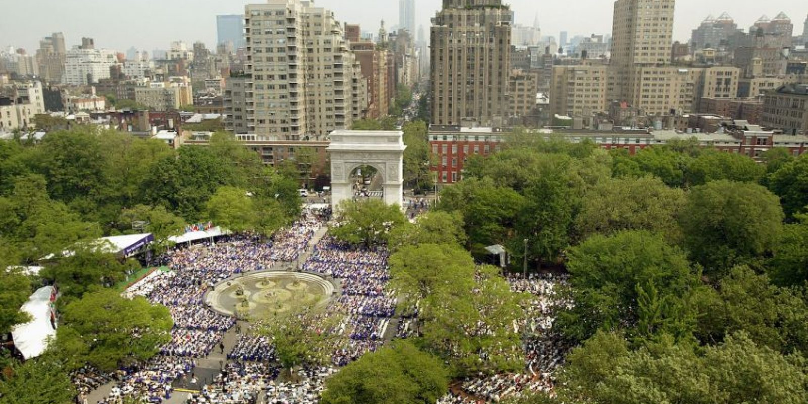 7. Universidad de Nueva York- 7 egresados multimillonarios. Foto: Getty