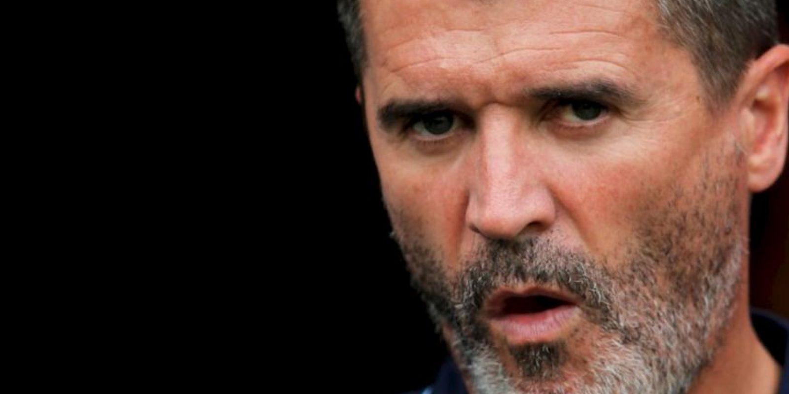 Roy Keane se peleó con un fanático que le había pedido su autógrafo Foto:Getty