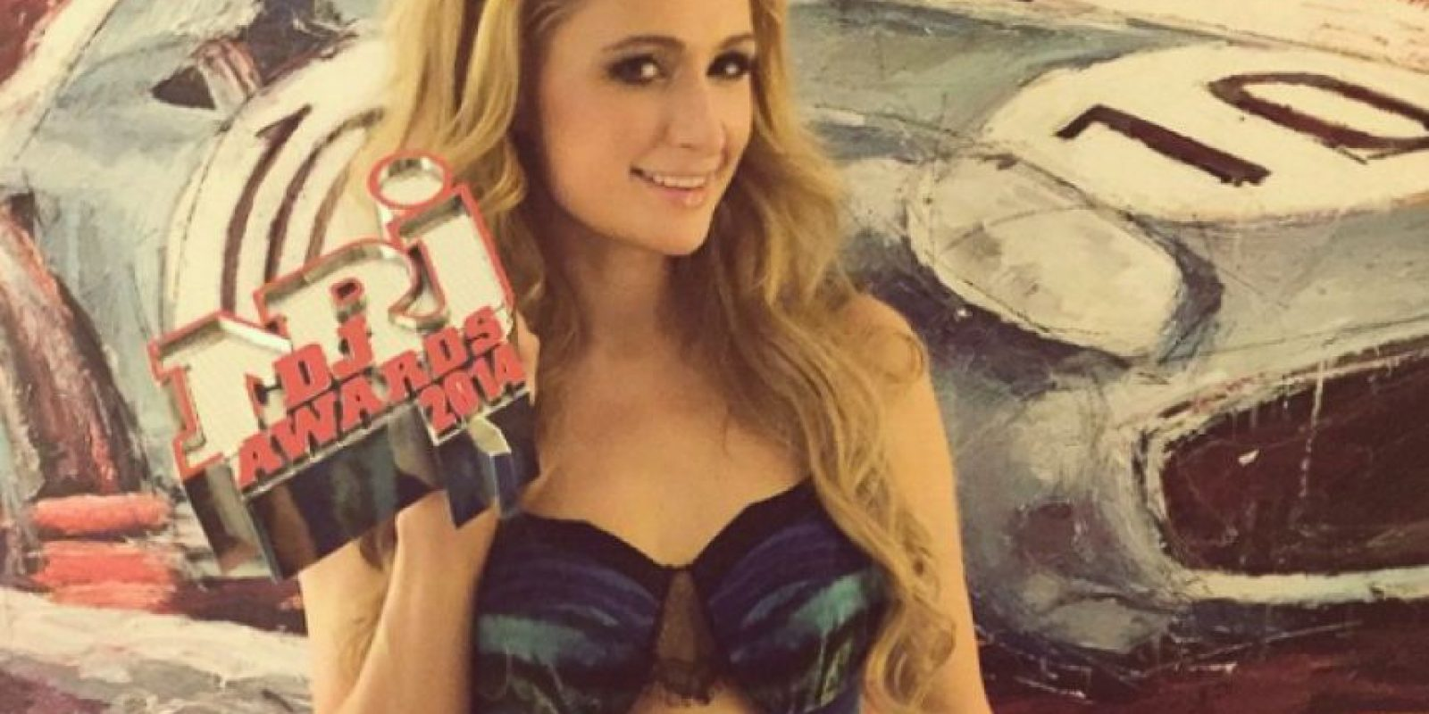 """Paris Hilton ganó el premio a la """"Mujer revelación del año"""" de los premios """"NRJ DJ Awards"""" Foto:Instagram/Paris Hilton"""