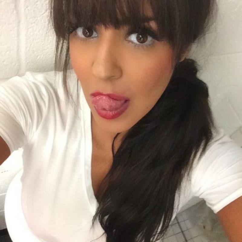También postea fotos con playeras sport Foto:Instagram: @laylael