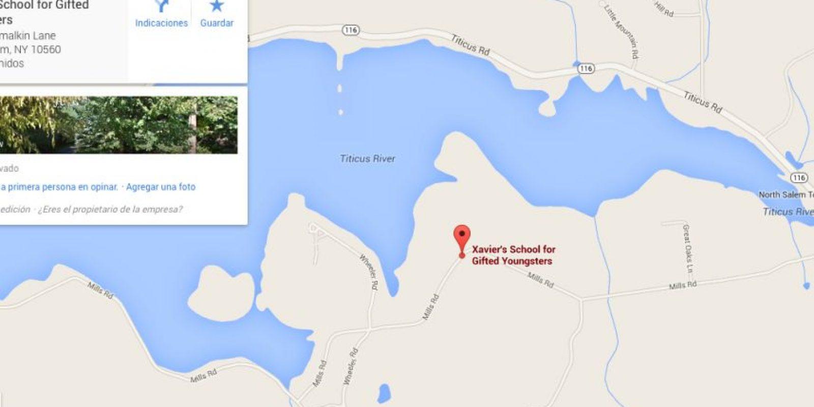 La ubicación de la Escuela para Jóvenes Talentos del profesor Charles Xavier.