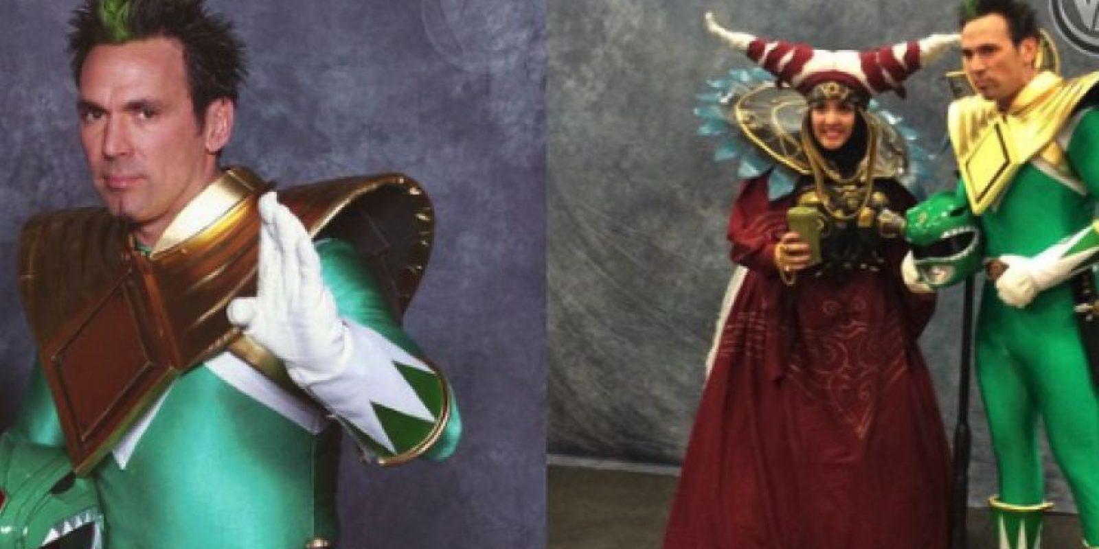Frank es un actor y luchador de artes marciales mixtas. Actualmente promueve el personaje del Power Ranger verde en diversas convenciones. Foto:Instagram