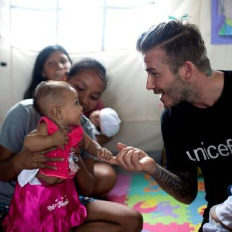 David se caracteriza por apoyar causas sociales Foto:Facebook: David Beckham