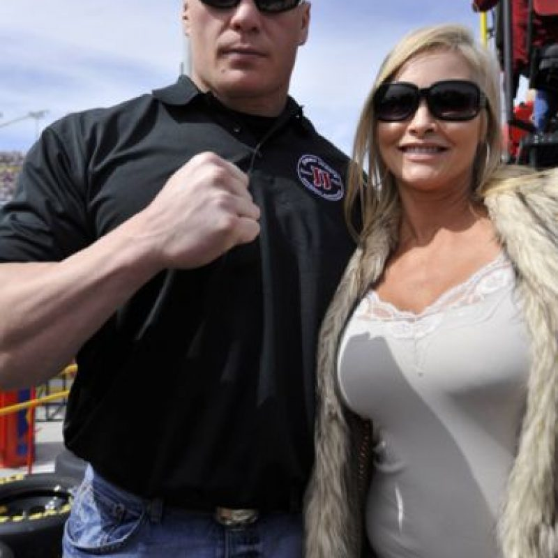 Brock Lesnar y Sable se casaron en 2006 Foto:WWE