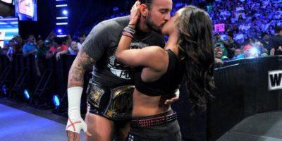 Punk se casó en junio pasado con AJ Lee Foto:WWE