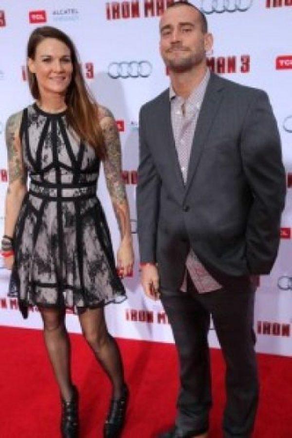 Lita también salió por un corto tiempo con CM Punk Foto:WWE