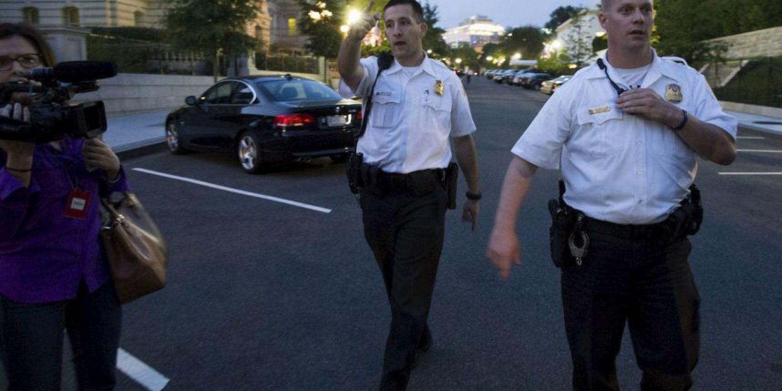 El presidente Barack Obama no se encontraba en la Casa Blanca al momento del incidente. Foto:AP