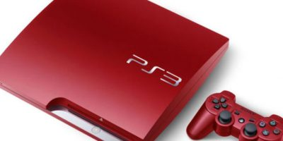 PlayStation 3 Slim roja Foto: SONY