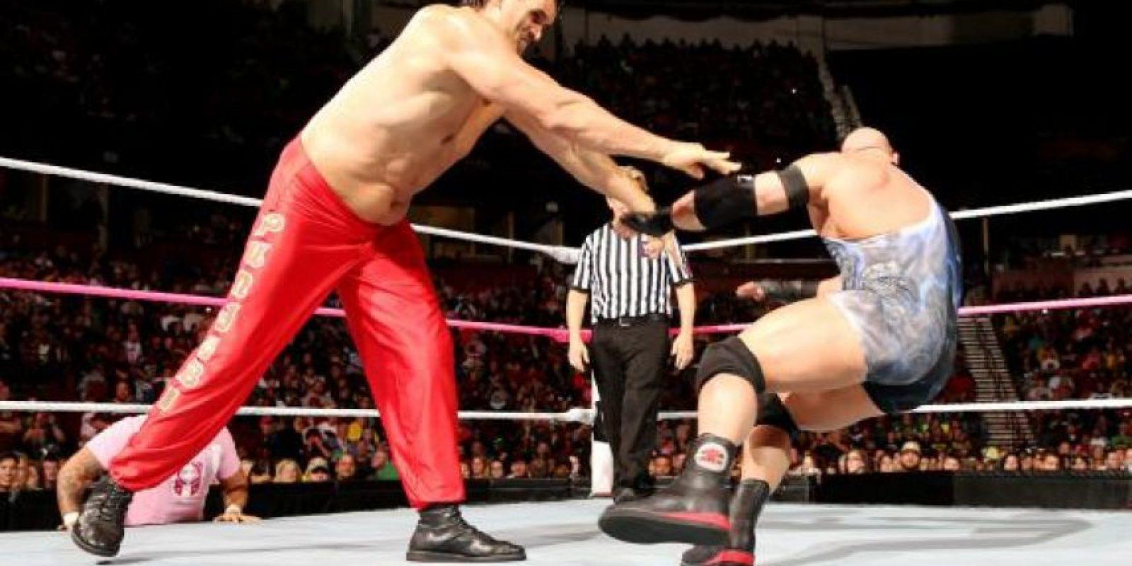 Ha participado en películas como Golpe bajo y Superagente 86 Foto:WWE