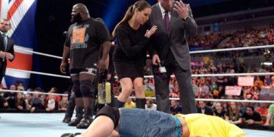 Los ahora directivos de la empresa están casados y tienen tres hijos Foto:WWE