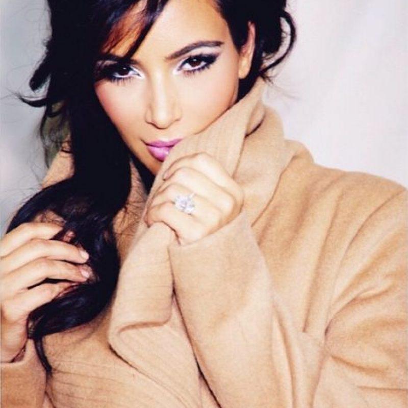 """También fue fotografiada sin ropa para la publicación """"W Magazine"""" Foto:Instagram @kimkardashian"""