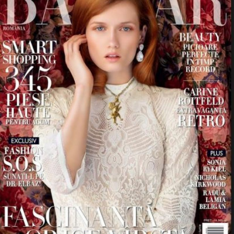 Katerina compartía apartamento con su novio Foto:Harper's Bazaar