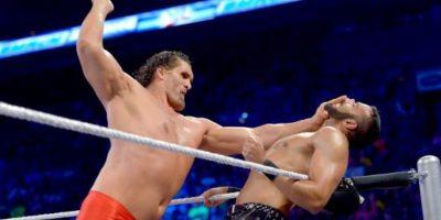 Ha trabajado en otras empresas como el New Japan y el CMLL, de México Foto:WWE