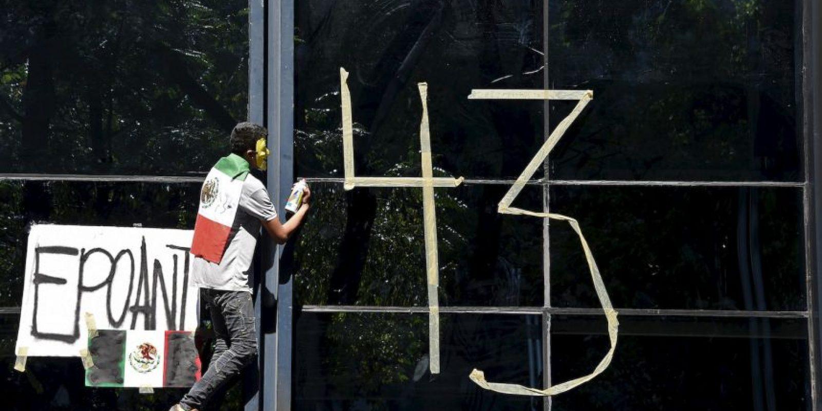 También desaparecieron los 43 estudiantes. Foto:AFP