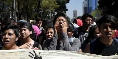 Múltiples protestas se han realizado en diversos puntos de México a fin de exigir la pronta aparición de los 43 estudiantes. Foto:AFP