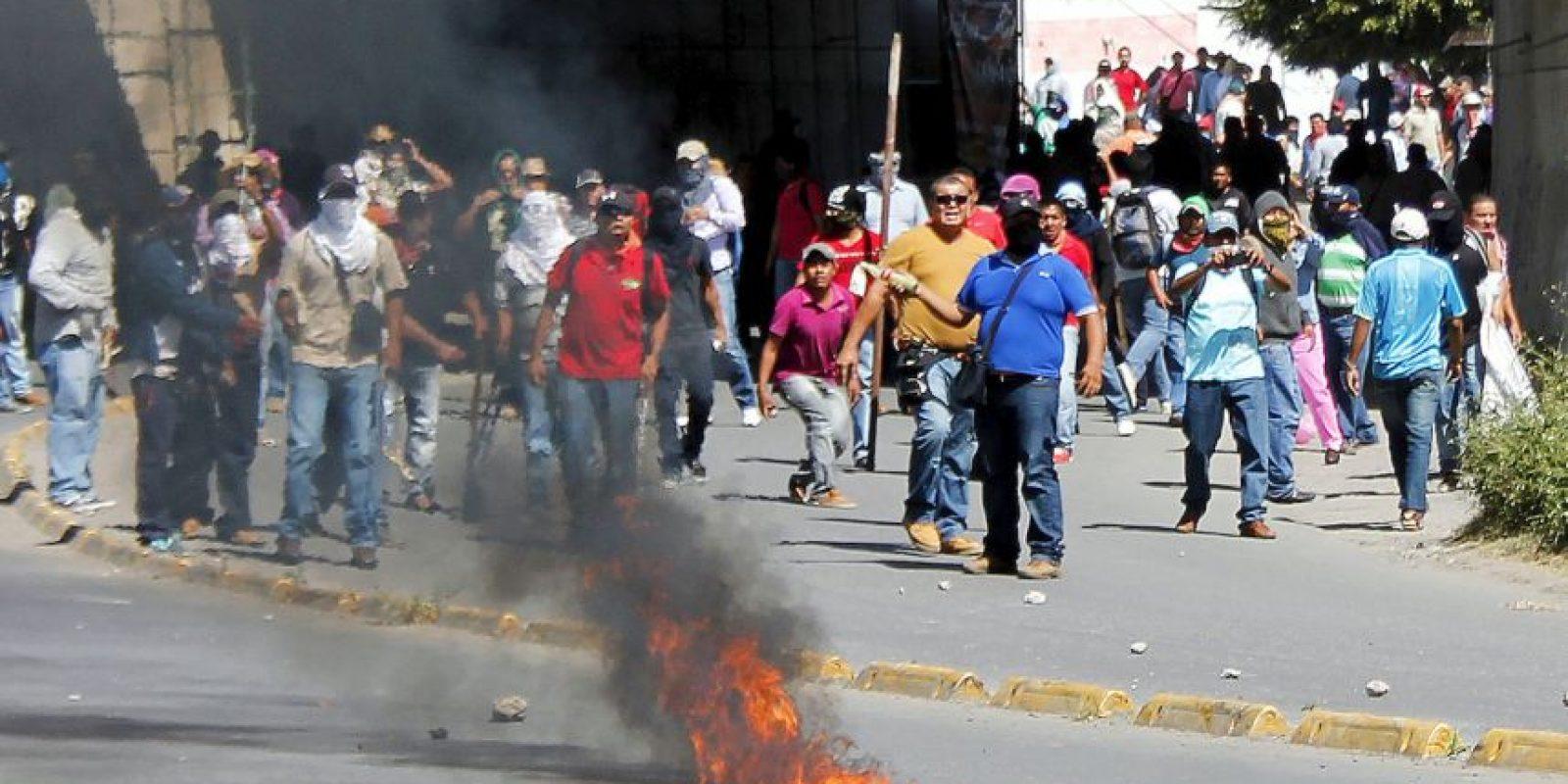 Medios de todo el mundo han reseñado el caso de los estudiantes desaparecidos. Foto:AFP